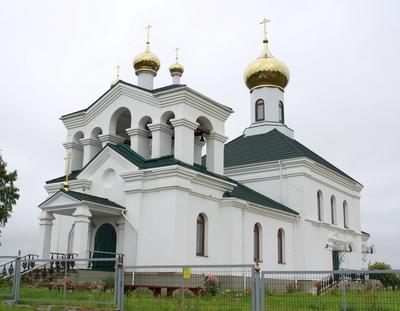 Храм Святой Живоначальной Троицы - Дарево