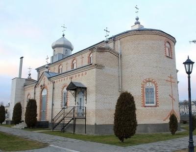 Храм Воздвижения Креста Господня - Ляховичи