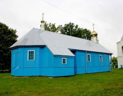 Храм Святого Духа - Б. Подлесье
