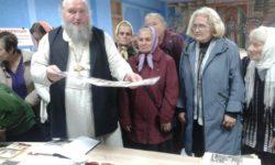 20 октября 2019 г. в здании ЦРБ г. Ляховичи состоялась лекция о. Георгия посвященная 30-летию образования Белорусского экзархата.